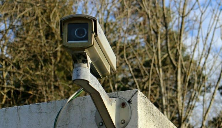 Klassische Überwachungskamera