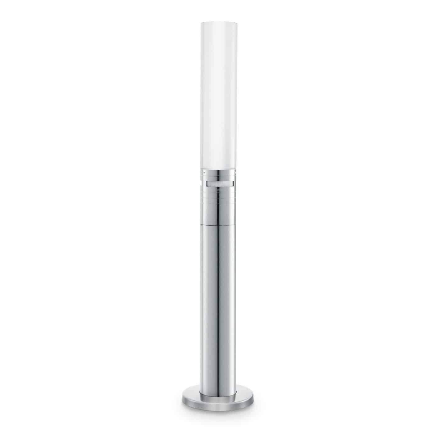 Steinel LED Gartenleuchte GL 60 LED, Wegeleuchte mit 360° Bewegungsmelder, Max. 12 m Reichweite, 8,6 W, Höhenverstellbar
