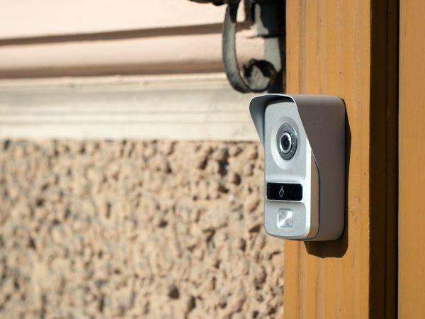Türsprechanlage mit Kamera