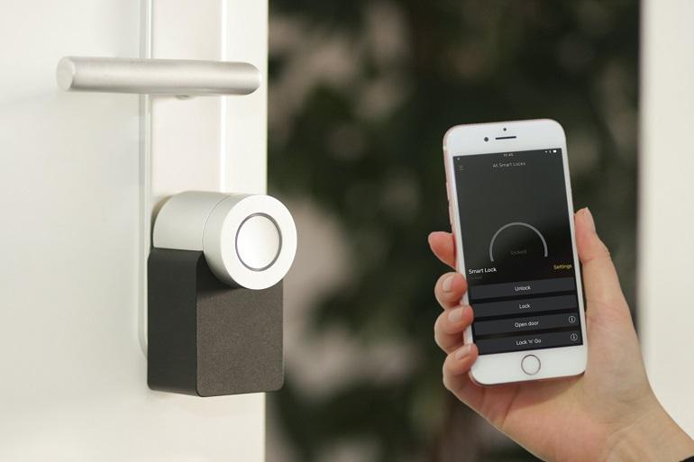 Smart Home Tür Gegensprechanlage